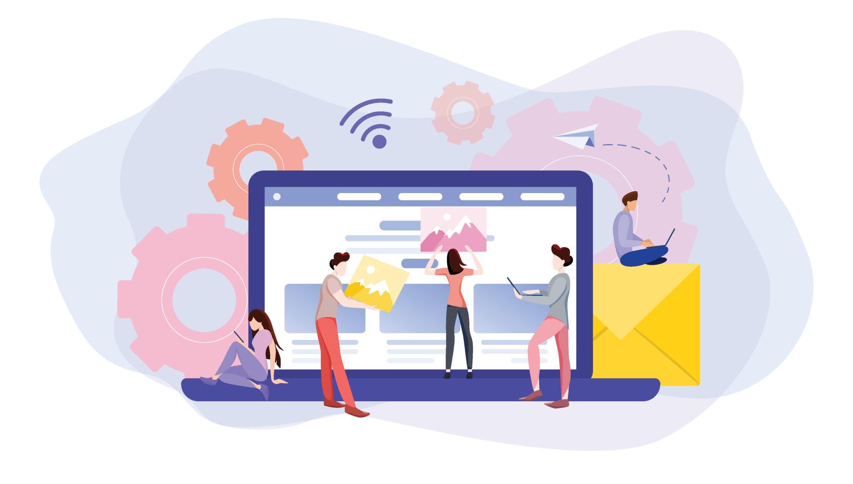 طراحی سایت شرکتی با جدیدترین امکانات
