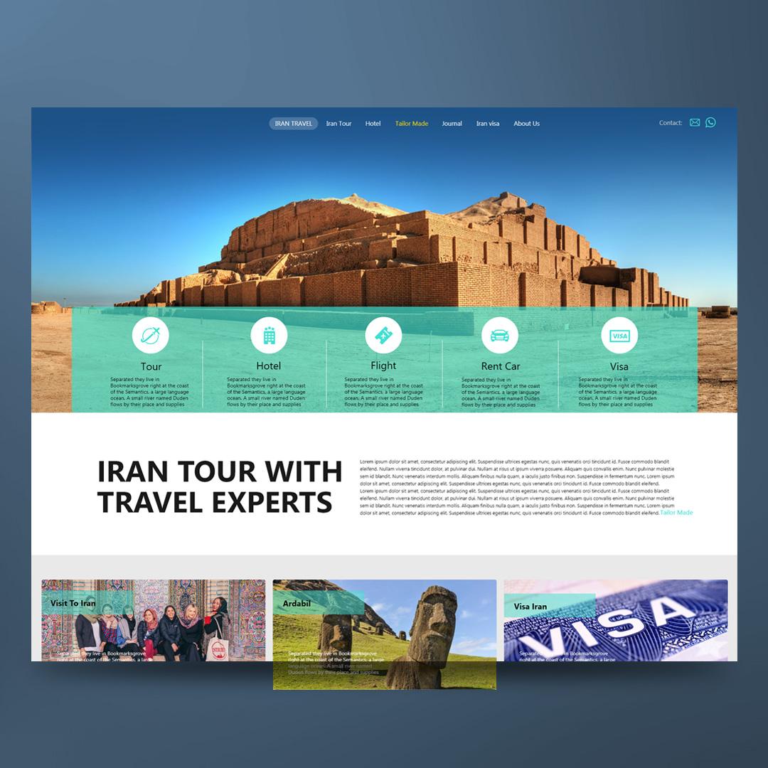 سایت گردشگری ایران ایستا